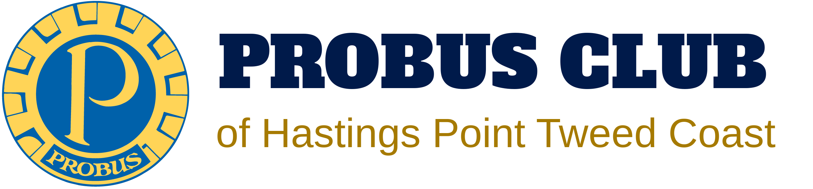 Probus Club of Hastings Point Tweed Coast Logo
